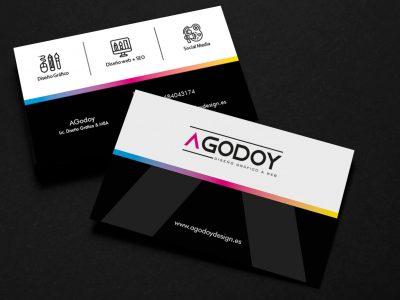 Tarjeta Personal AGodoyDesign